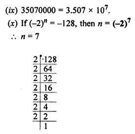 ML Aggarwal Class 7 Solutions for ICSE Maths Chapter 4 Exponents and Powers Objective Type Questions 3