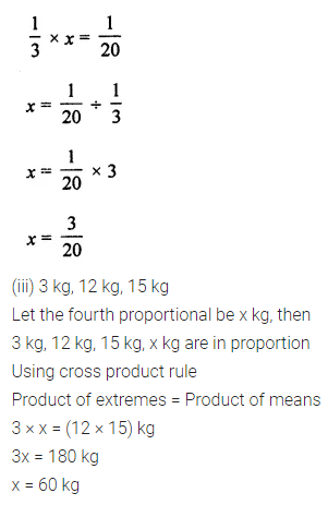 ML Aggarwal Class 7 Solutions for ICSE Maths Chapter 6 Ratio and Proportion Ex 6.2 7