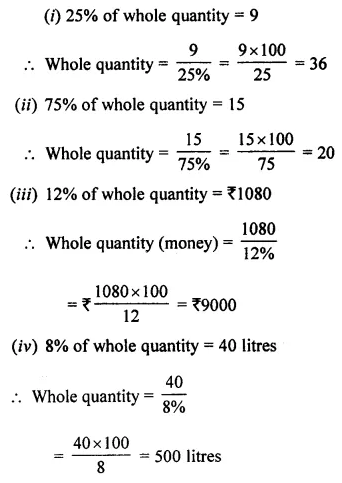 ML Aggarwal Class 7 Solutions for ICSE Maths Chapter 7 Percentage and Its Applications Ex 7.2 15