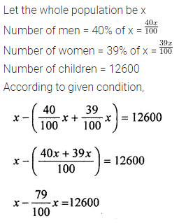 ML Aggarwal Class 7 Solutions for ICSE Maths Chapter 7 Percentage and Its Applications Ex 7.2 20