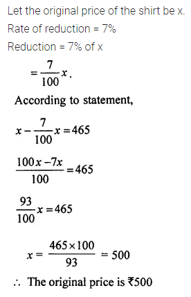 ML Aggarwal Class 7 Solutions for ICSE Maths Chapter 7 Percentage and Its Applications Ex 7.2 25