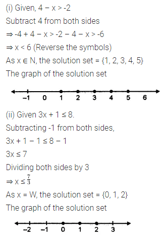 ML Aggarwal Class 7 Solutions for ICSE Maths Chapter 9 Linear Equations and Inequalities Ex 9.3 3
