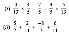 ML Aggarwal Class 8 Solutions for ICSE Maths Chapter 1 Rational Numbers Check Your Progress 9