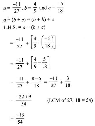 ML Aggarwal Class 8 Solutions for ICSE Maths Chapter 1 Rational Numbers Ex 1.1 17
