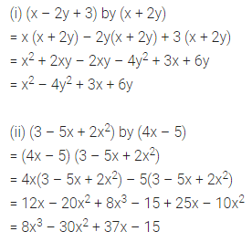 ML Aggarwal Class 8 Solutions for ICSE Maths Chapter 10 Algebraic Expressions and Identities Ex 10.3 4