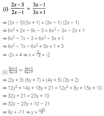 ML Aggarwal Class 8 Solutions for ICSE Maths Chapter 12 Linear Equations and Inequalities in one Variable Ex 12.1 21