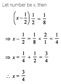 ML Aggarwal Class 8 Solutions for ICSE Maths Chapter 12 Linear Equations and Inequalities in one Variable Objective Type Questions 11
