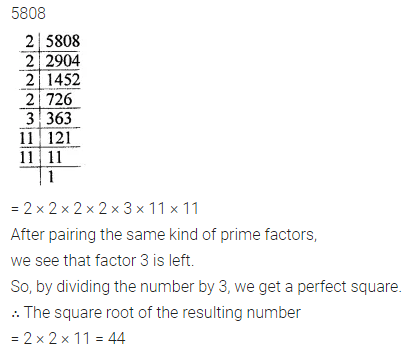 ML Aggarwal Class 8 Solutions for ICSE Maths Chapter 3 Squares and Square Roots Ex 3.1 9