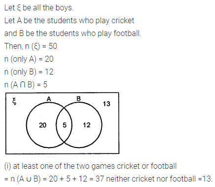 ML Aggarwal Class 8 Solutions for ICSE Maths Chapter 6 Operation on Sets Venn Diagrams Ex 6.2 12