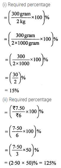 ML Aggarwal Class 8 Solutions for ICSE Maths Chapter 7 Percentage Ex 7.1 13
