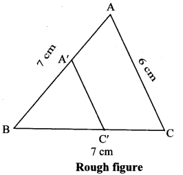 Maharashtra Board Class 10 Maths Solutions Chapter 4 Geometric Constructions Practice Set 4.1 10
