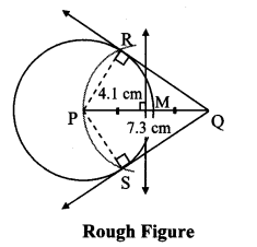 Maharashtra Board Class 10 Maths Solutions Chapter 4 Geometric Constructions Practice Set 4.2 11