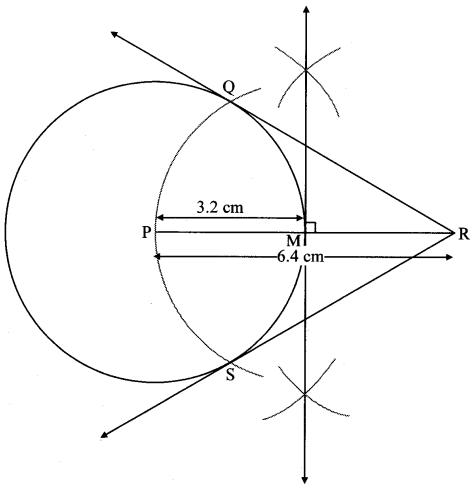 Maharashtra Board Class 10 Maths Solutions Chapter 4 Geometric Constructions Problem Set 4 6