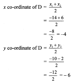 Maharashtra Board Class 10 Maths Solutions Chapter 5 Co-ordinate Geometry Practice Set 5.2 20