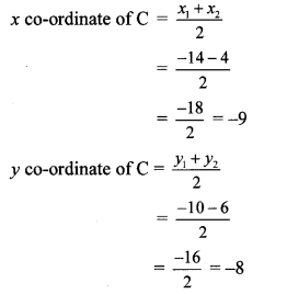 Maharashtra Board Class 10 Maths Solutions Chapter 5 Co-ordinate Geometry Practice Set 5.2 21