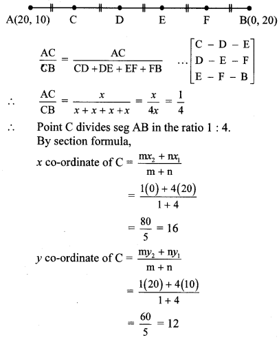 Maharashtra Board Class 10 Maths Solutions Chapter 5 Co-ordinate Geometry Practice Set 5.2 24