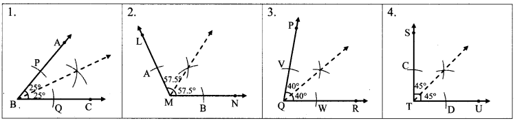 Maharashtra Board Class 6 Maths Solutions Chapter 2 Angles Practice Set 3 1
