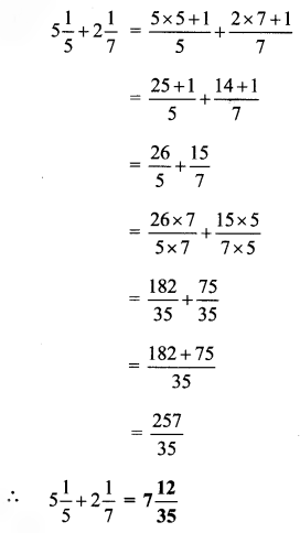 Maharashtra Board Class 6 Maths Solutions Chapter 4 Operations on Fractions Practice Set 10 3