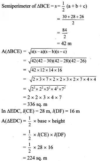 Maharashtra Board Class 8 Maths Solutions Chapter 15 Area Practice Set 15.5 2