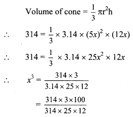 Maharashtra Board Class 9 Maths Solutions Chapter 9 Surface Area and Volume Practice Set 9 2