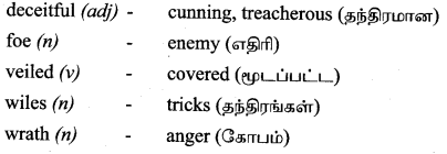 Tamilnadu Board Class 9 English Solutions Poem Chapter 2 A Poison Tree - 3