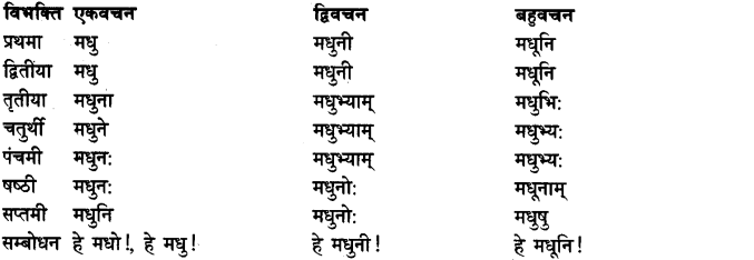 Shabd Roop - शब्द रूप, Sanskrit Shabd Roop 3