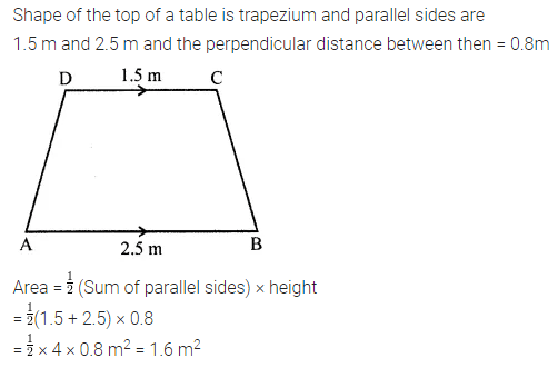 ML Aggarwal Class 8 Solutions for ICSE Maths Chapter 18 Mensuration Check Your Progress 2