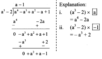 Maharashtra Board Class 8 Maths Solutions Chapter 10 Division of Polynomials Practice Set 10.2 6