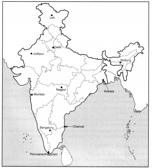 Class 9 Geography Chapter 4 Extra Questions and Answers Climate 1