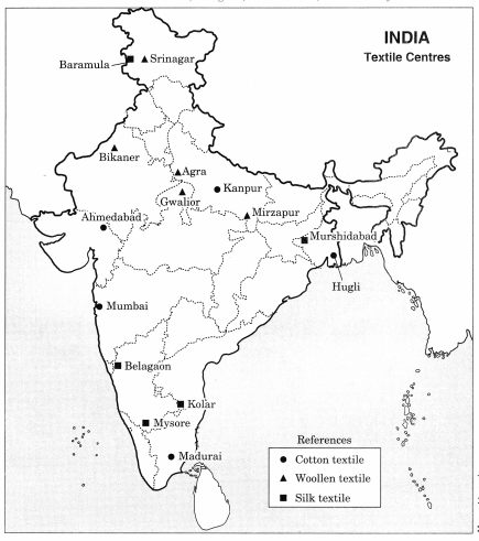 Class 10 Geography Chapter 6 Extra Questions and Answers Manufacturing Industries 1