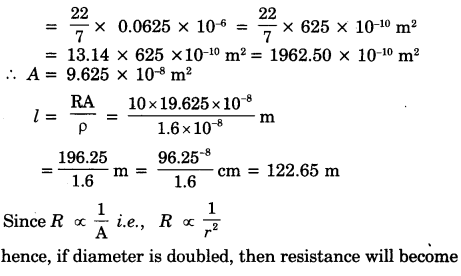 Electricity Class 10 Extra Questions with Answers Science Chapter 12 35
