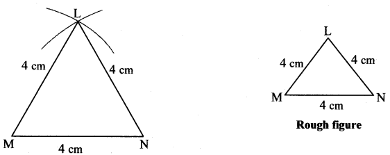 Maharashtra Board Class 7 Maths Solutions Chapter 1 Geometrical Constructions Practice Set 2 6