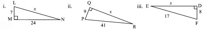 Maharashtra Board Class 7 Maths Solutions Chapter 13 Pythagoras' Theorem Practice Set 48 1