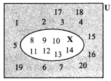 Maharashtra Board Class 9 Maths Solutions Chapter 1 Sets Practice Set 1.3 1