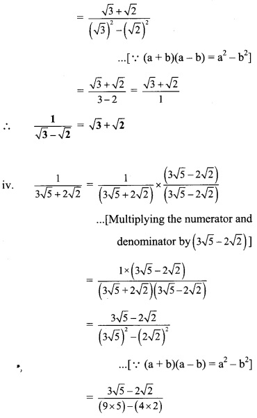 Maharashtra Board Class 9 Maths Solutions Chapter 2 Real Numbers Problem Set 2 32