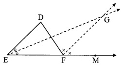 Maharashtra Board Class 9 Maths Solutions Chapter 3 Triangles Practice Set 3.1 7