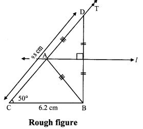 Maharashtra Board Class 9 Maths Solutions Chapter 4 Constructions of Triangles Practice Set 4.1 5