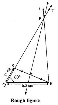 Maharashtra Board Class 9 Maths Solutions Chapter 4 Constructions of Triangles Practice Set 4.2 3