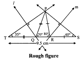 Maharashtra Board Class 9 Maths Solutions Chapter 4 Constructions of Triangles Practice Set 4.3 1