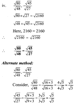 Maharashtra Board Class 9 Maths Solutions Chapter 4 Ratio and Proportion Practice Set 4.2 11