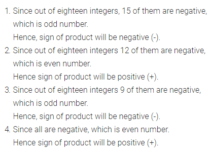 Selina Concise Mathematics Class 7 ICSE Solutions Chapter 1 Integers Ex 1A 10