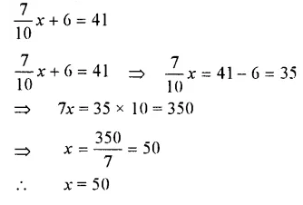 Selina Concise Mathematics Class 7 ICSE Solutions Chapter 12 Simple Linear Equations Ex 12A 32