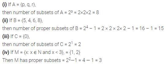 Selina Concise Mathematics Class 7 ICSE Solutions Chapter 13 Set Concepts Ex 13C 21