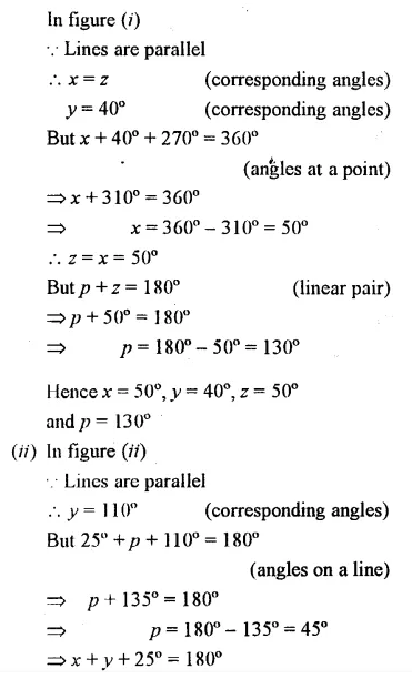 Selina Concise Mathematics Class 7 ICSE Solutions Chapter 14 Lines and Angles Ex 14B 42