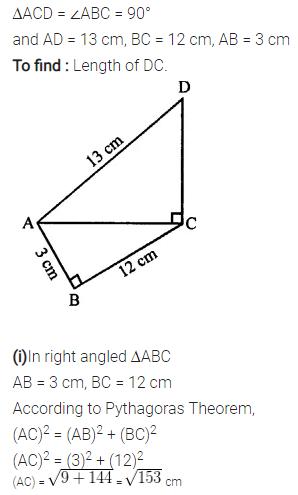 Selina Concise Mathematics Class 7 ICSE Solutions Chapter 16 Pythagoras Theorem 14