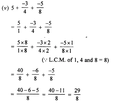 Selina Concise Mathematics Class 7 ICSE Solutions Chapter 2 Rational Numbers Ex 2C 58