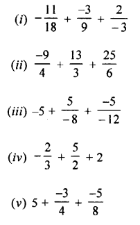 Selina Concise Mathematics Class 7 ICSE Solutions Chapter 2 Rational Numbers Ex 2C Q4