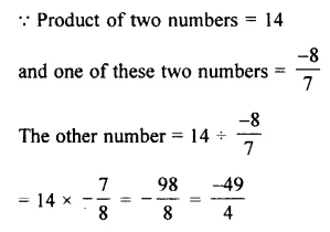 Selina Concise Mathematics Class 7 ICSE Solutions Chapter 2 Rational Numbers Ex 2D 92