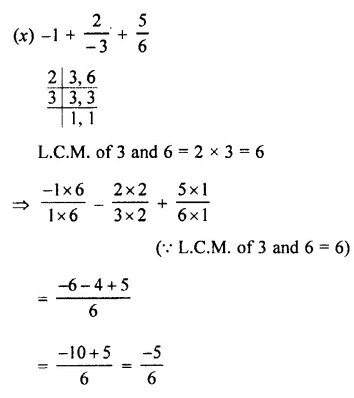 Selina Concise Mathematics Class 7 ICSE Solutions Chapter 2 Rational Numbers Ex 2E 105
