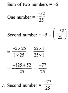 Selina Concise Mathematics Class 7 ICSE Solutions Chapter 2 Rational Numbers Ex 2E 108